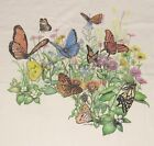 BUTTERFLY GARDEN Butterflies Flowers Plants Insects Nature Science T shirt S XXL