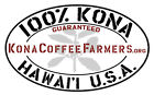 Kona Coffee Beans Fresh Roasted 100% Hawaiian Whole Bean or Ground 5 Pounds