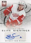 2011-12 Elite Signings Auto Brendan Smith Rookie RC Detroil Red Wings 71