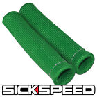 2 PC GREEN SPARK PLUG WIRE PROTECTOR INSULATOR SHIELD SLEEVE BOOT 1 INCH B