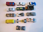 13 VINTAGE ASSORTED HOTWHEELS DIECAST CARS  MORE  CARRYING CASE