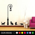 CATS  Lamp Wall Decor Decal Sticker Large