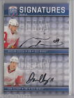 2008-09 UD Be a Player MARIAN HOSSA DAN CLEARY Dual Auto