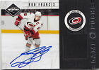 2011-12 LIMITED RON FRANCIS GAME PUCKS AUTO AUTOGRAPH PUCK SWATCH # 13 20