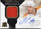 2010-11 THE CUP JEFF CARTER SIGNATURE PATCHES AUTO AUTOGRAPH PATCH # 68 75
