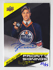 2010 UD FALL EXPO TAYLOR HALL PRIORITY SIGNINGS ROOKIE AUTO AUTOGRAPH # 22 25