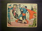1940 GUM INC SUPERMAN #8 RESCUE AT THE BANK VG+