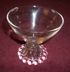 Vintage Anchor Hocking Boopie Bubble Bottom Glasses 3-1/2