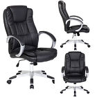 Tall & Big High Back PU Leather Executive Office Computer Desk Chair Arms Seat