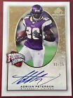 2007 8 15 Adrian Peterson SP Gold Auto Chirography Football RC