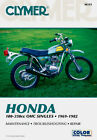 Clymer Repair Service Shop Manual Vintage Honda CB/CL/CT/SL/TL/XL