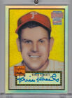 2001 TOPPS Archives Reserve Robin Roberts Autograph 1952 TOPPS Refractor