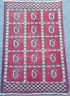 Beautiful Antique Bokhara Style Area Rug With Motifs. Hand Woven 100% Wool
