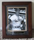 VINTAGE SANDY KOUFAX AUTO SIGNED 8 x 10 FRAMED PHOTO LOS ANGELES DODGERS RARE
