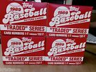 set of 4 Unopen Boxs Topps 1989 Baseball Cards