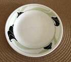 Corelle Bread Side Dessert Plate Black Oorchid English Breakfast Country Cottage