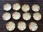 Vintage FRANCISCAN LOT x 11 Hand Decorated Fine China Plate California USA 5.75