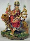 Goddess DURGA Statue DIVINE Mother Figurine HINDU Creator INDIAN Mythology TIGER