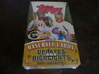 2005 Topps Updates & Highlights Baseball Box---Hobby---Factory Sealed---36 Packs