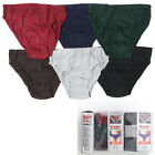 6 12 Knocker Mens Bikinis Briefs Boxer Underwear Small Medium Large XL Solid New
