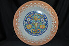 VAL DEMONE CERAMICS Hand Painted Decorative Wall Plate 22