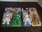 McDonald's---Beanie Babies---Lot Of 4---Maple, Erin, Glory, Britannia---Lot #92
