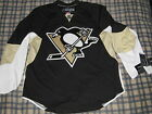 AUTHENTIC PRO PITTSBURGH PENGUINS 7187 REEBOK BLACK HOME JERSEY 52 NEW TAGS MINT