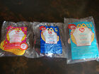 McDonald's--Beanies--Lot Of 3--Slither, Lucky, Neon--2000--Sealed---Lot #113