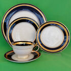 Rosenthal Eminence Cobalt & Gold5pc Place Setting NEW IN BOX original design