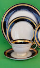 Rosenthal Eminence Cobalt & Gold 4pc Place Setting NEW IN BOX original design