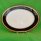 Rosenthal Eminence Cobalt & Gold Platter 15 in. Large NEW IN BOX original design