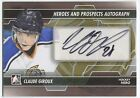 Claude Giroux 2013-14 ITG In The Game Heroes Prospects AUTOGRAPH Auto Card *Q977