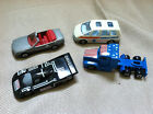 Vintage Novacar Lot of 4 Die Cast 1:64 Cars Ambulance Mercades Truck Racecar