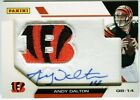 Andy Dalton 2012 Panini Father's Day Manufactured AUTOGRAPH Auto Card D366