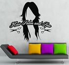 Wall Sticker Vinyl Decal Hair Salon Spa Barbershop Beauty Hairdresser ig2036