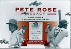 2011 LEAF PETE ROSE LEGACY BASEBALL FACTORY SEALED HOBBY BOX 1 ROSE AUTO PER BOX
