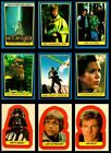 1983 Topps-RETURN OF THE JEDI #2 Card Set w STICKERS