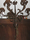 ANTIQUE WROUGHT IRON CHANDELIER, SPANISH MEDITERREAN STYLE FOR CANDLES