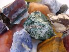 Natural TUMBLE ROUGH 1000 CARAT Lots Colorful Mix of Rock and Gemstone Rough