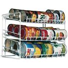 Can Rack Cabinet Space Saver Soda Soup Tuna Can Storage Holder Organizer Shelf