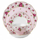 New Country Roses Pink Vintage 5-Piece Place Setting Royal Albert
