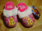 Hannah Montana Young Girls Hot Pink Slippers Sizes 10 4
