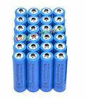 24x AA 2A 3000mAh 1.2 V Ni-MH rechargeable battery cell - MP3 RC Toy Camera Blue