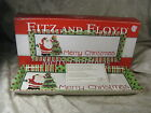 2006 Fitz Floyd Santa Merry Christmas Holiday Serving Tray MIB
