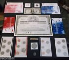 Junk Drawer Coin Lot Half Dollars Silver Certificate Indian Penny Ike Dollar WoW