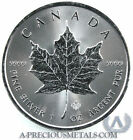 2014 1oz Canadian Silver Maple leaf coin with Micro Engraved Security Feature