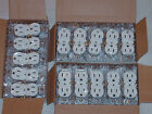 LOT 30 DUPLEX OUTLET PLUGS RECEPTACLES OFF-WHITE ALMOND 15A 15 AMPS