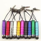 10x ten color Dust Caps + Pen Stylus for HTC Evo 4G Inspire 4G Droid Incredible