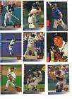 13 different 1993 SP Baseball STARS and ROOKIES, w GRIFFEY NRMT+
