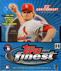 2013 TOPPS FINEST BASEBALL HOBBY BOX FACTORY SEALED NEW